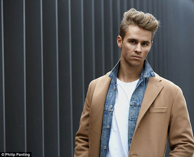 Made In Chelsea's Julius Cowdrey smoulders in photoshoot | Daily Mail Online