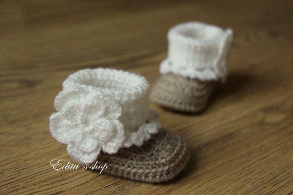 Ungewöhnlich Babyhäkelarbeit Booties Muster Frei Bilder - Schal ...