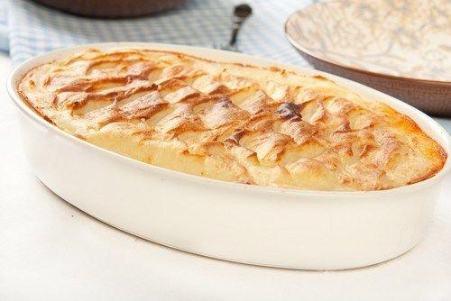 Картофельный пирог с индейкой и эстрагоном