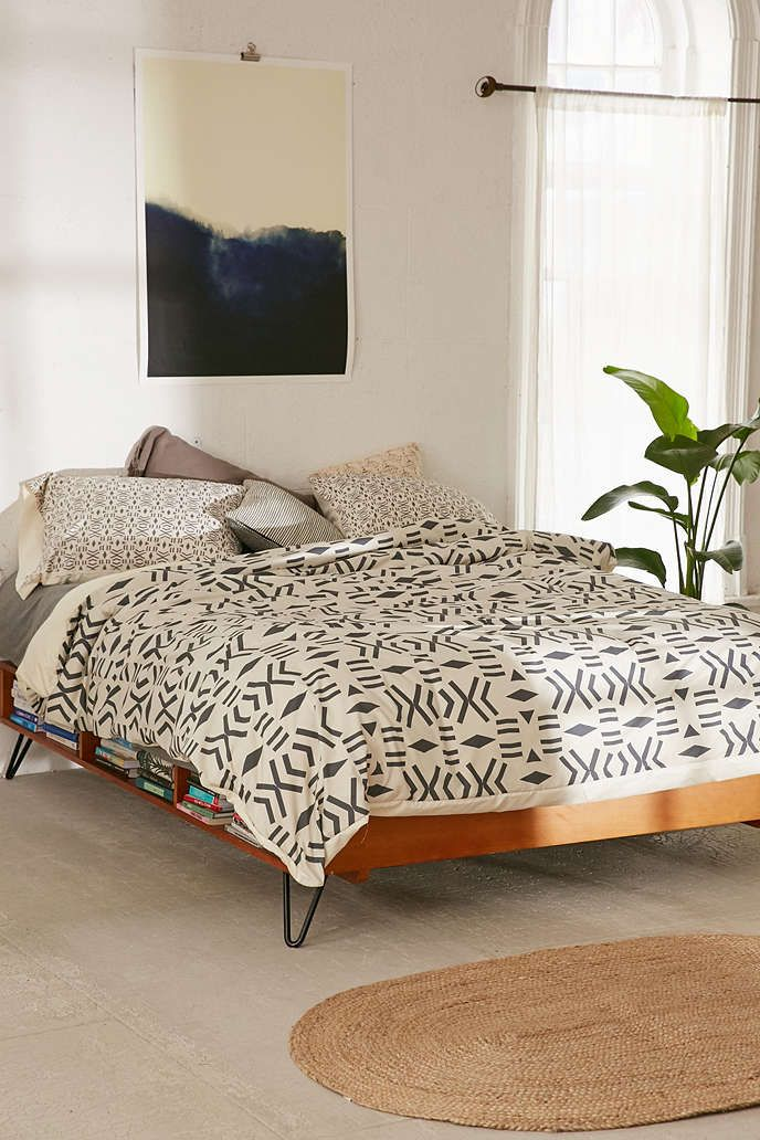 Holli Zollinger For DENY Geo Mudcloth Duvet Cover - Urban Outfitters