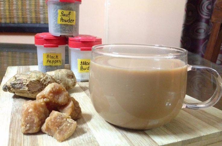 Healthy Tea - Gur Wali Chai or Jaggery Tea