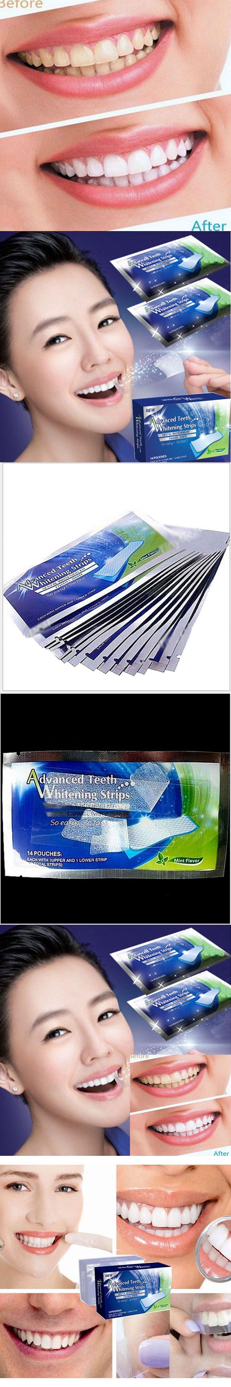 1pcs New Teeth Whitening Strips Gel Care Oral Hygiene Clareador Dental Bleaching Tooth Whitening Bleach Teeth Whiten Tools H0018