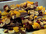 French Chocolate Bark Recipe - Can use semi sweet or dark chocolate. I also make it with white chocolate, pistachios and dried cherries.