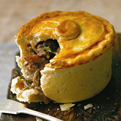 The Ginger Pig's Beef Bourgignon Pie -- 'We started making meat pies around eight years ago as we had a lot of offcuts of meat that was too superior to make into everyday mince. After getting a classic recipe from old farm cookery books, we adapted it to make it more interesting.'