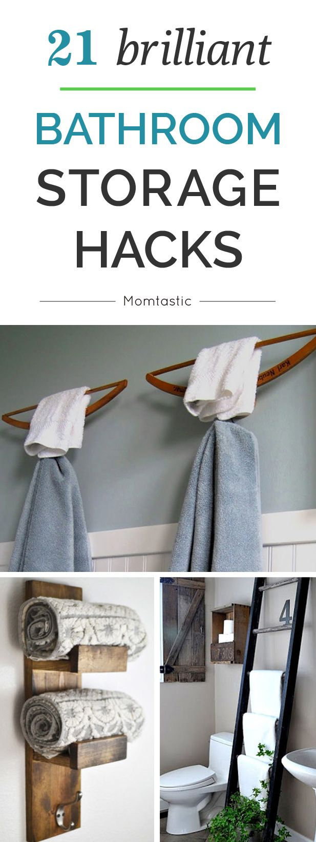 Awesome 17 Storage Hacks For Tiny Bathrooms  Tiny House Pins