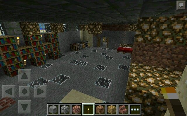 minecraft pe beach house basement leading to 3 diff underground