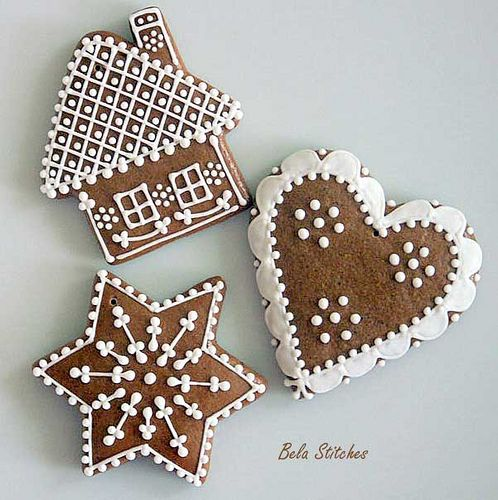 gingerbread cookies. How gorgeous they look