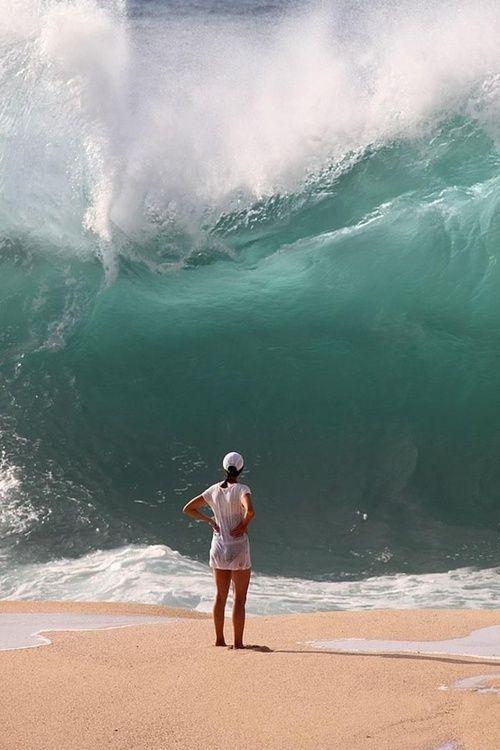 Waimea Bay, Oahu, Hawaii. First Winter swell awesomeness!!! 10/09/2012.