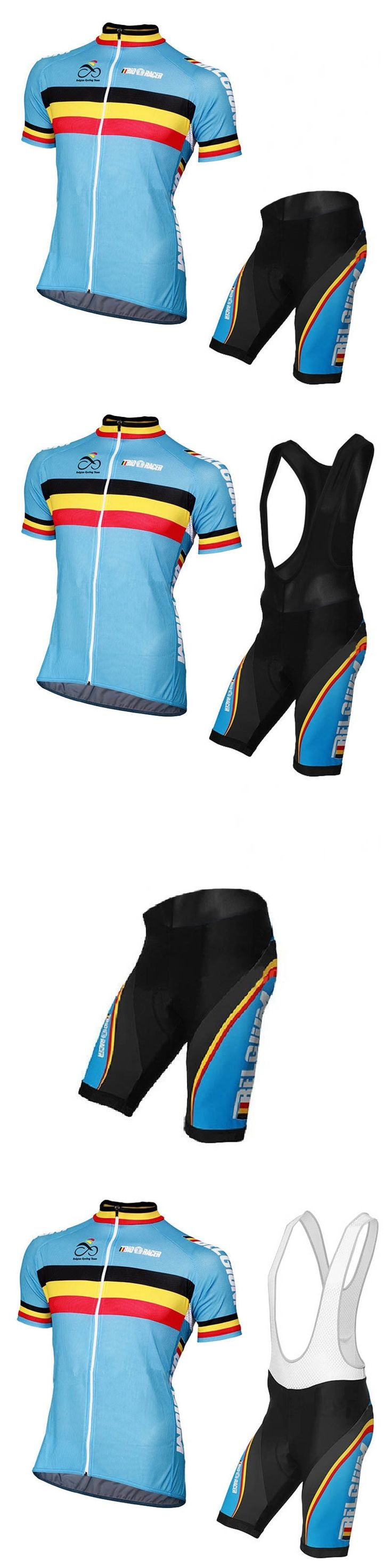 MTB clothing Cycling jersey set Summer Breathable clothing Men's short  ropa ciclismo Belgian classics Flag outdoor team custom