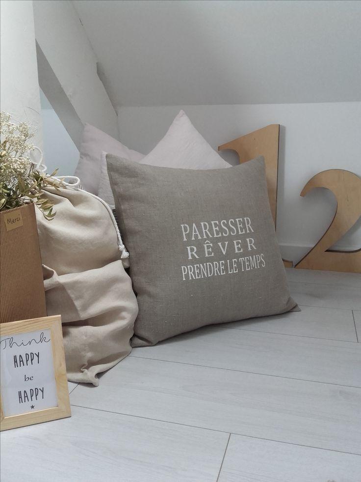 les 25 meilleures id es de la cat gorie coussin personnalis sur pinterest coussins. Black Bedroom Furniture Sets. Home Design Ideas