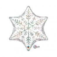 Holographic Snowflake $9.50 (Inflated) Q20263