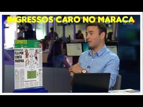 Análise sobre o preço dos ingressos no Maracanã e no Brasil comparação c...