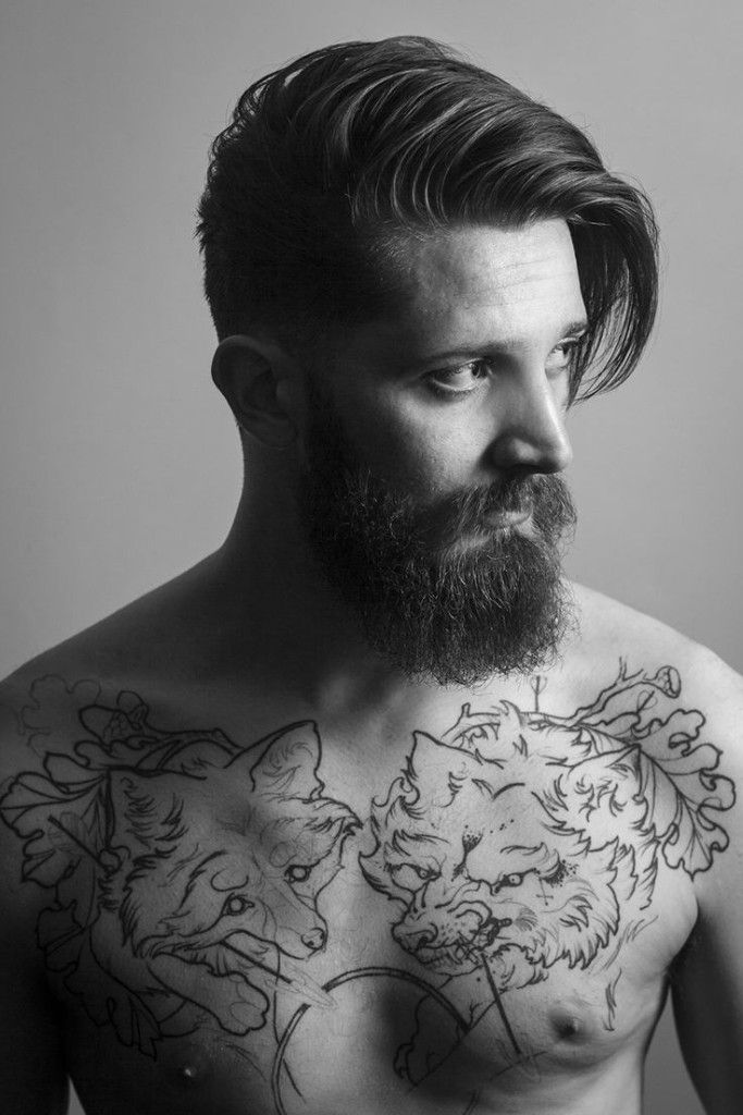 Mens Hairstyles With Beards 100 beards 100 bearded men on instagram to follow for beardspiration 20 Classy Long Hairstyles For Men