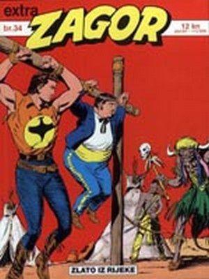 Zagor - Zlato iz rijeke ( ceo strip u boji )