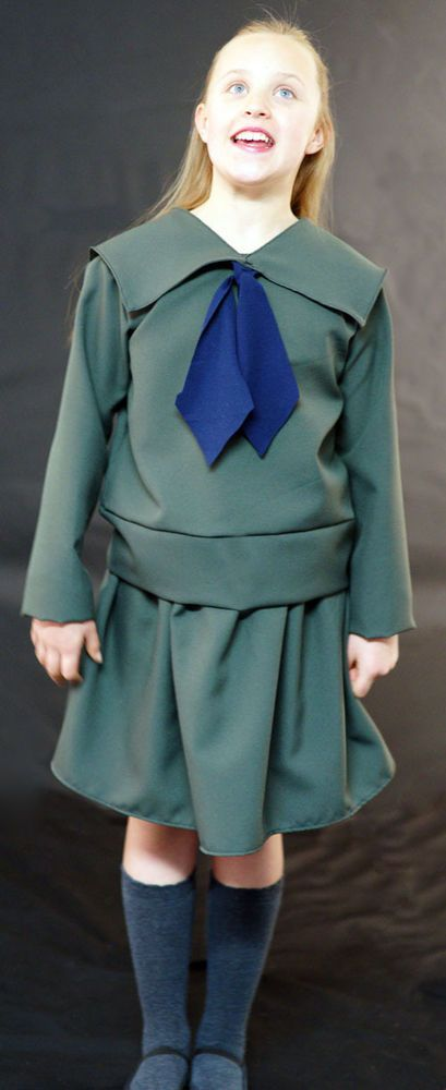 Sound of Music-Von Trapp Children SAILOR FANCY DRESS costume all ages/sizes  #Dress
