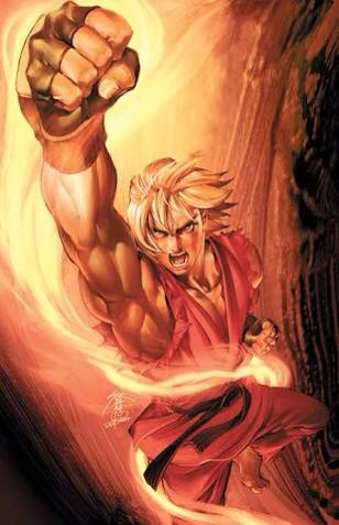 Ken street fighter.