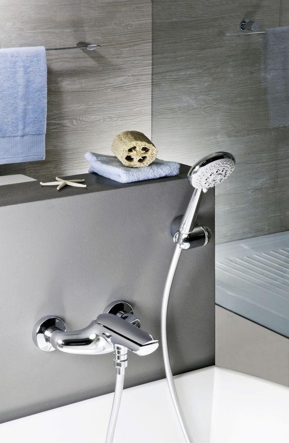 AI850101    Banyo Bataryası    El Duşu Setli  Mix Kollu    Renkler  Krom  Parlak Beyaz Krom