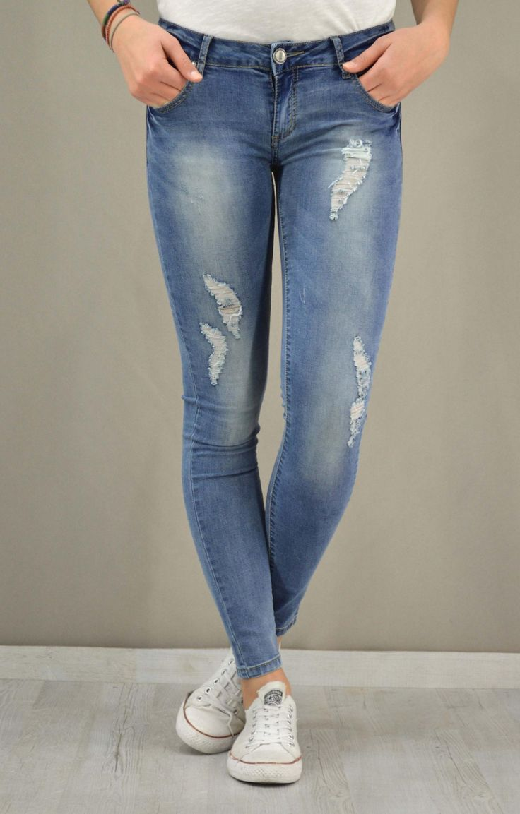 Γυναικείο τζίν skinny | Παντελόνια jeans - Jeans & Denims -