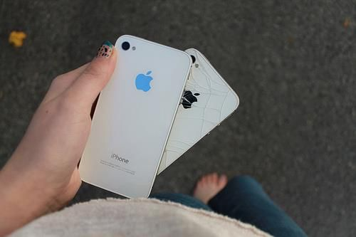 If you crack your phone from the back this case will hide it for you ! ❤️