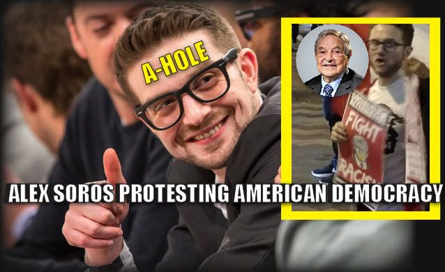 The Soros family has been doing their dirty work underground for years but recently they are no longer even trying to hide. They are just doing it in the open. George Soros's own son Alex Soros, is now even participating in the riots himself. These lunatics are hoping to do a Bolshevik revolution in 2016's America like they did in Russia in 1917 through Leon Trotsky who was the Soros of 1917. He was exactly like George Soros, a communist Jew, instigator, manipulator and financier (thr...
