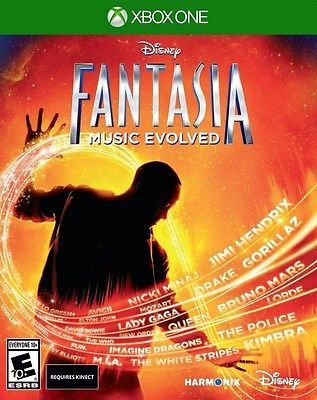 cool XBOX ONE GAME DISNEY FANTASIA MUSIC EVOLVED BRAND NEW & SEALED - For Sale