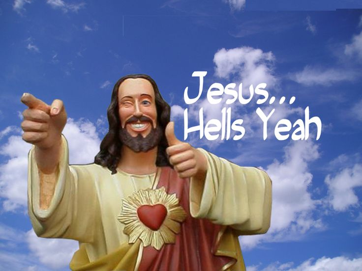 Buddy Christ!
