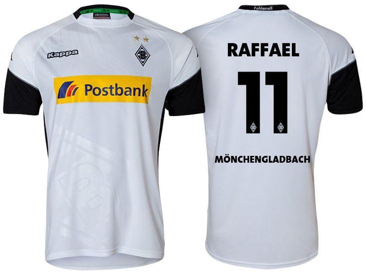 Borussia Monchengladbach Jersey raffael 17-18 Home Shirt