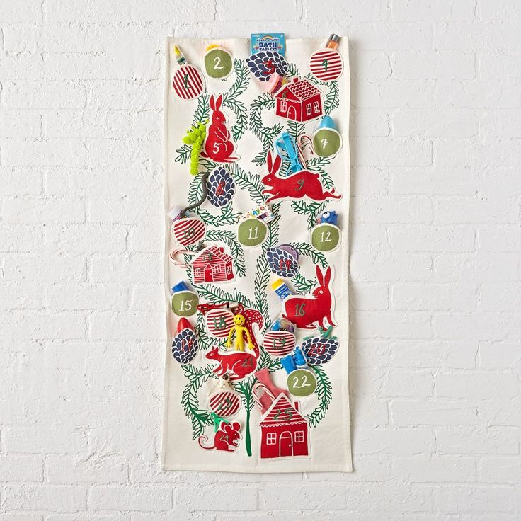 Festive Folklore Toy Advent Calendar
