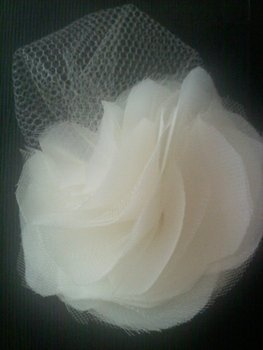 chiffon tulle flowers to do for Christmas wreaths..beautiful. So doing this over the weekend.