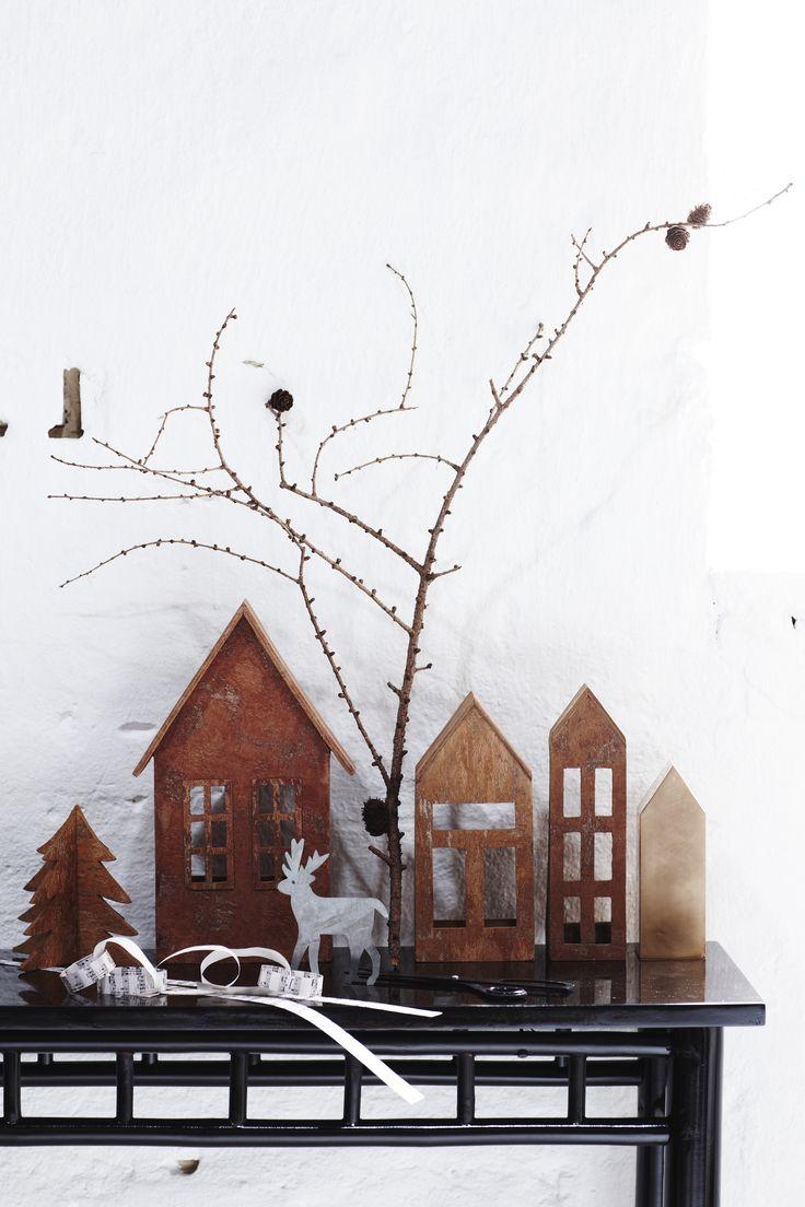 Handmade houses of Cinamon