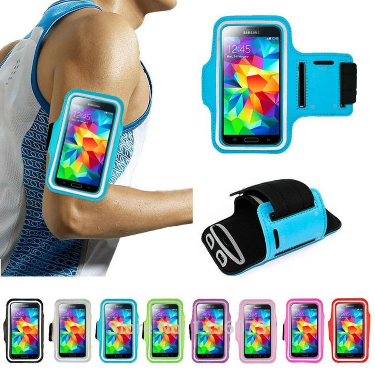 Waterproof Sport Running Armband Case Workout Armband Pouch For Samsung Galaxy S5 S4 s3 Cell Mobile