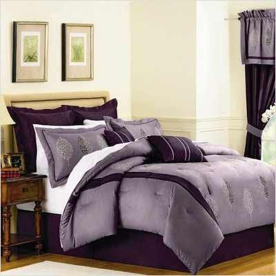 Royal Purple Floral Bedding Set Ideas 55 Jpg 400 215 400