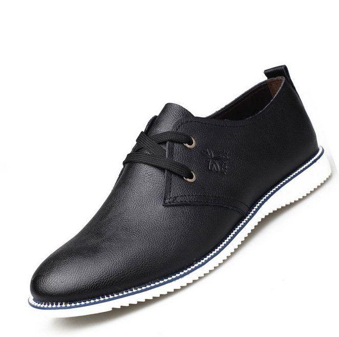 New Fashion men oxfords summer&winter Leather Shoes Men's Flats Shoes Low Men Sneakers for men