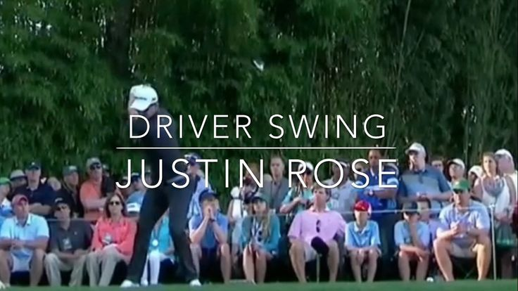 [Golf Swing] Justin Rose's Driver shots at different angles