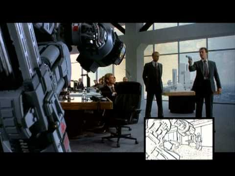 Robocop - 08 The Boardroom: Storyboard with commentary by Animator Phil ...