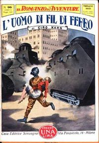 """L'Uomo di Fil di Ferro"" (The Iron-wire man), by Ciro Khan. Italy 1932"