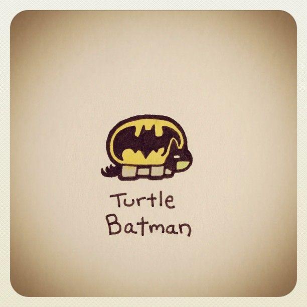 Turtle Batman #turtleadayjune - @turtlewayne- #webstagram