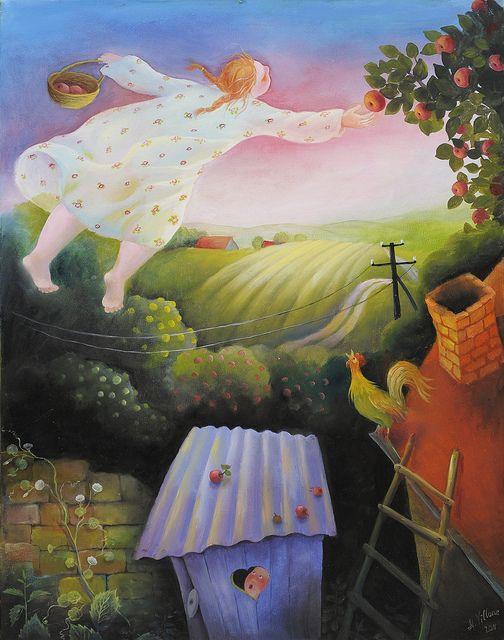 In my dream | by Art by Natasha Villone