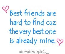 This qoute is dedicated to my best friend Anna:) I will see u soon!!!
