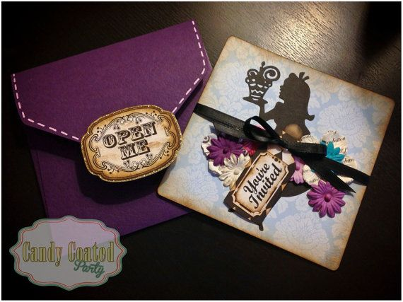 Hey, I found this really awesome Etsy listing at http://www.etsy.com/listing/162334736/alice-in-wonderland-invitations-20ct