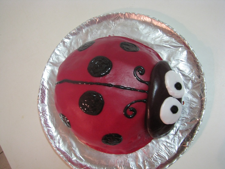 Ladybird cake - Meja's 4th birthday