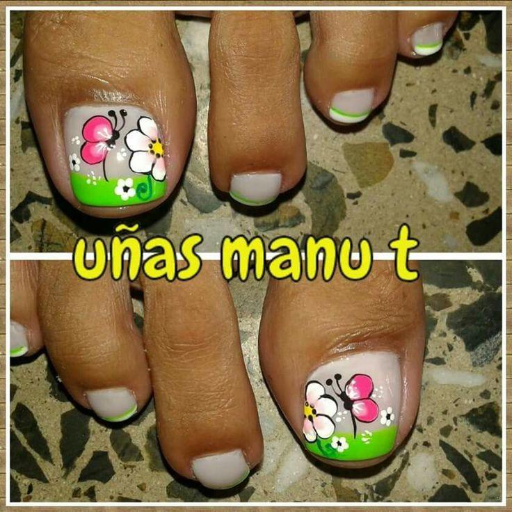 Uñas de pies