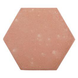 Tomette Lisse hexagonale Rosé Provençale ou parisienne, la tomette Lisse, par son caractère authentique, apportera charme et douceur à votre intérieur. - Sable ou rosé, elle existe dans 2 formats 17 cm et 12,5 cm - Idéal pour plancher chauffant grâce à son fort pouvoir d'inertie - Simple à poser, facile d'entretien, très résistant