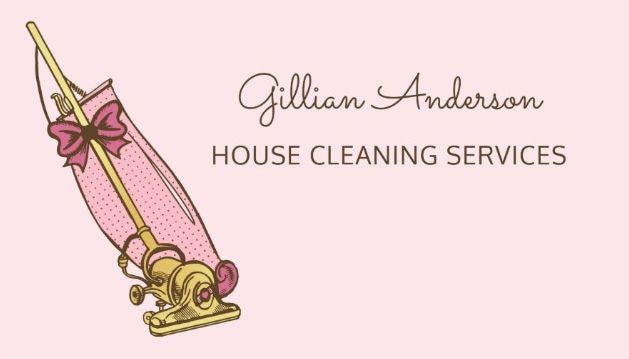 75 best girly cleaning services business cards images on