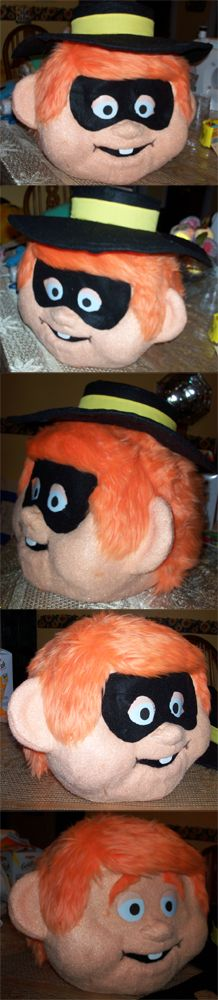 Hamburglar Costume - How DO you make those Animal Costumes? (Fursuits)