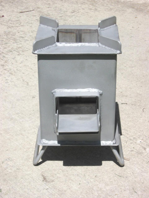 Stainless Steel Grover Rocket Stove   The Big One ...