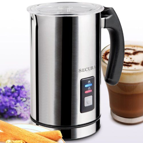 Secura Automatic Electric Milk Frother and Warmer - http://nespressoshop.net/secura-automatic-electric-milk-frother-and-warmer-2