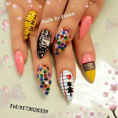 Nail Trends: Back to School Nail Art