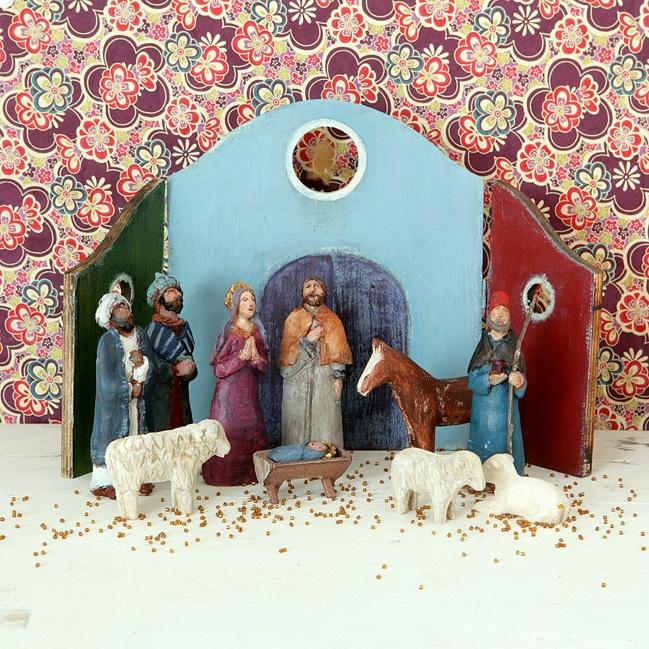 17 Best Images About Nativity On Pinterest Folk Art