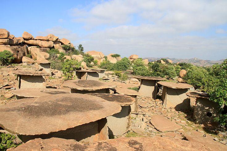 Ancient graveyard: Exploring Moryar Gudda in Karnataka
